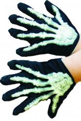 Handsker med skelet Barn