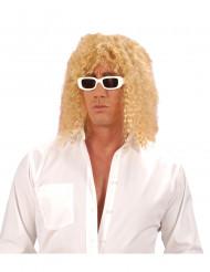 Paryk blond sanger Voksen