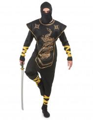 Gyldendragen - Ninjakostume til mænd