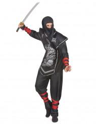 Drageild - Ninjakostume til voksne