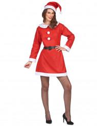 Den søde julemor - Nissekostume til kvinder