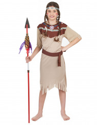 Blegt squaw-kostume piger