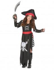 Dødens pirat - Piratudklædning til piger