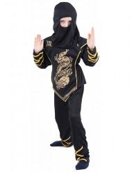 Gulddragen - Ninjakostume til drenge