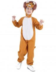 Sjovt løvekostume til børn