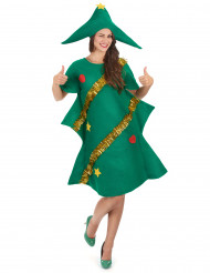 Kostume juletræ med humoristiske dekorationer til kvinder jul