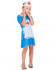 Blå sygeplejerske - udklædning til børn