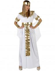 Egyptisk dronningekostume kvinde