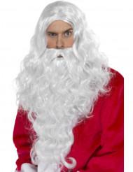Julemandsparyk og skæg Voksen