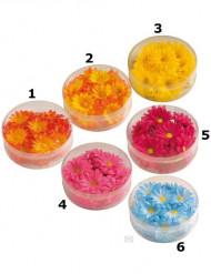 Dekorationsblomster syntetiske farvede