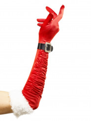 Lange nissepige handsker