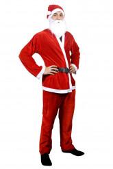 Den stærke julemand - Julemandskostume til voksne