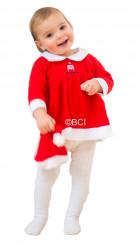 Kostume julemandens kone til babyer