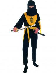 Den sorte ninja - Ninjakostume til børn