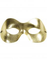 Guldfarvet maske til voksne
