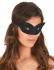 Sort maske til voksne