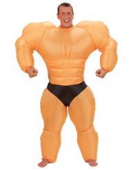 Oppusteligt Bodybuilderkostume voksen