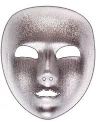 Sølv maske til voksne