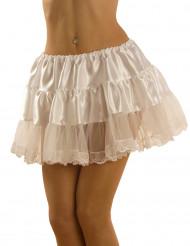 Hvid nederdel til voksne