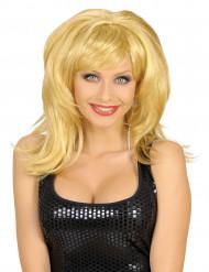Blond kvindeparyk