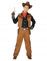 Cowboykostume dreng
