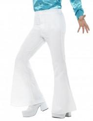 Bukser disko hvid