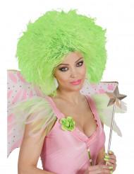 Grøn paryk til dame