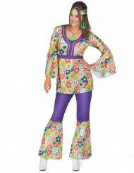 Disko hippiekostume til kvinder