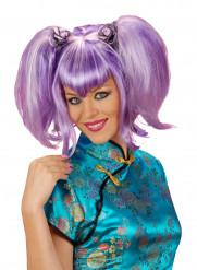 Paryk kinesisk violet til kvinder