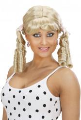 Blond Lolitaparyk til dame
