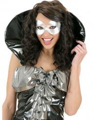 Sølv øjenmaske til voksne
