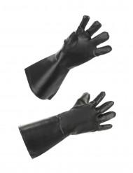 Handsker i falsk læder til voksne