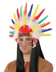 Indianer hovedbeklædning til voksne