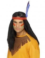 Indianer paryk til mænd