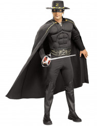 Udklædning muskuløs Zorro™ mand