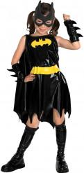 Sort og gult Batgirl™ kostume til piger