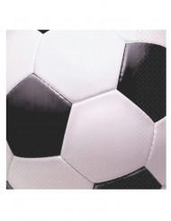 Servietter 16 stk. fodbold 33x33 cm
