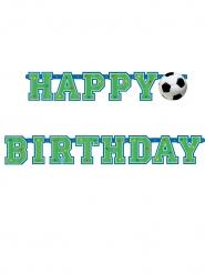 Happy Birthday fodbold banner