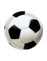 8 små fodboldtallerkner 18cm