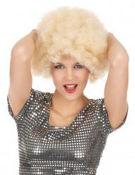 Blond afroparyk voksen