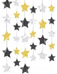 Dekoration med stjerner