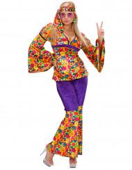 Hippie-dragt kvinde