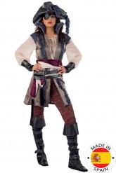 Kostume pirat kvinde - Premium