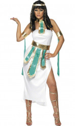 Egyptisk dronning-kostume kvinde