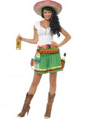 Kostume servitrice mexicansk til kvinder