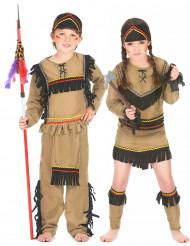 Parkostume indianere til børn