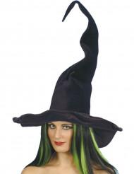 Sort heksehat voksen Halloween