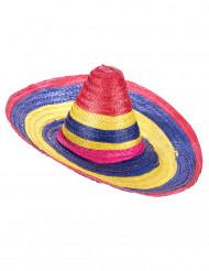 Sombrero flerfarvet til voksne