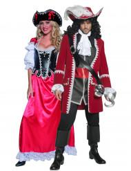 Pirat parkostume til voksne