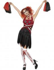 Zombie-cheerleader kvinde Halloween